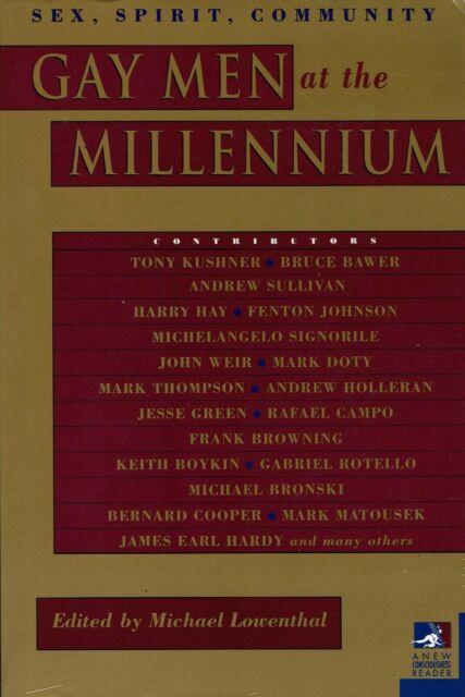 Gay Men at the Millennium: Sex, Spirit, Community, Autographed paperback
