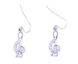 Genial-color-plata-nota-musical-clave-de-sol-con-pendientes-de-cristal-precioso