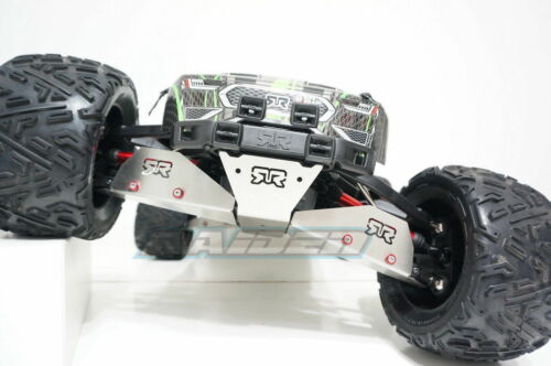 Arrma 1//8 Nero Big Rock Fazon Stainless Front /& Rear Arm Protect Armor Protector
