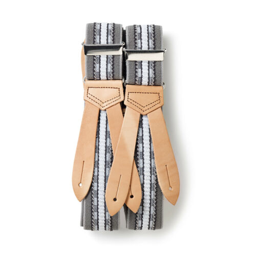 "Hercules Patten Grey 944450 125cm 35mm Prym Suspenders /"" pro /"""