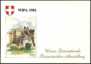 Austria-1981-Wipa-Stamp-Exhibition-M-S-FDC-Card-C36361