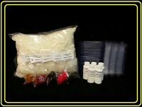 Soy Wax Melt/tart Making Kit W/wax, Scents, Clamshell Containers Free Shipping