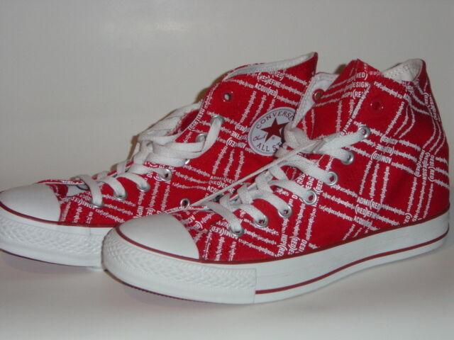 Converse Chucks HI Rot, Limited, UK 8 EUR 41,5 CM 26,5