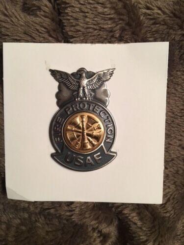"MARSHAL BADGE Mini 2/"" Boxed USAF Department CHIEF"