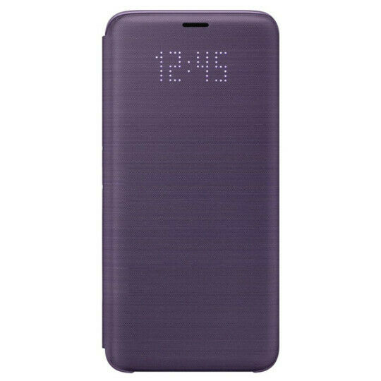 CUSTODIA Samsung s9 LED view Cover Guscio EF-NG960PVEGWW per Galaxy s9 PURPLE