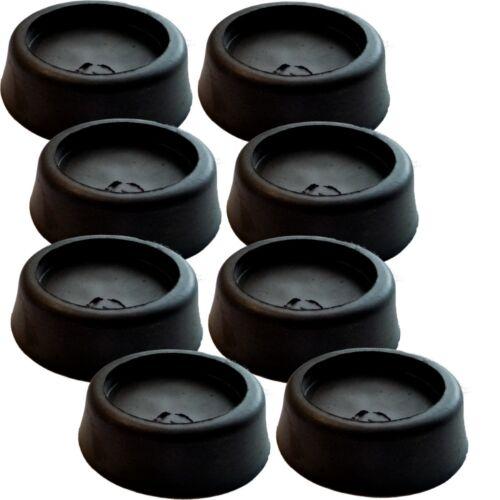 Gummi Schwingungsdämpfer Vibrationsdämpfer für Waschmaschinen /& Trockner 8er-Set