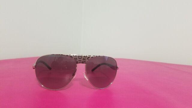 MICHAEL KORS Sunglasses MK 1006 10586G Sadie II Gunmetal Silver LeopardBlack