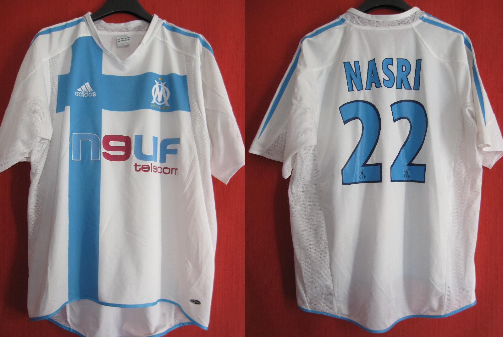 Maillot Olympique Marseille NASRI Neuf Telecom OM  Adidas vintage - M  compra en línea hoy