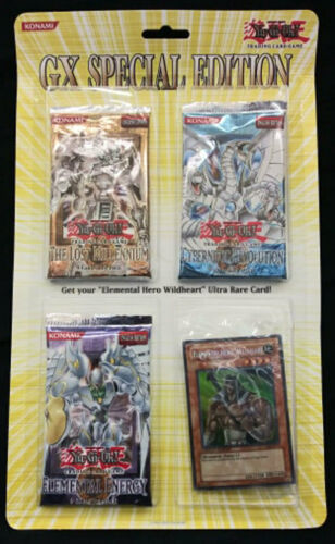 Yugioh GX Special Edition Blister Pack FACTORY SEALED!!