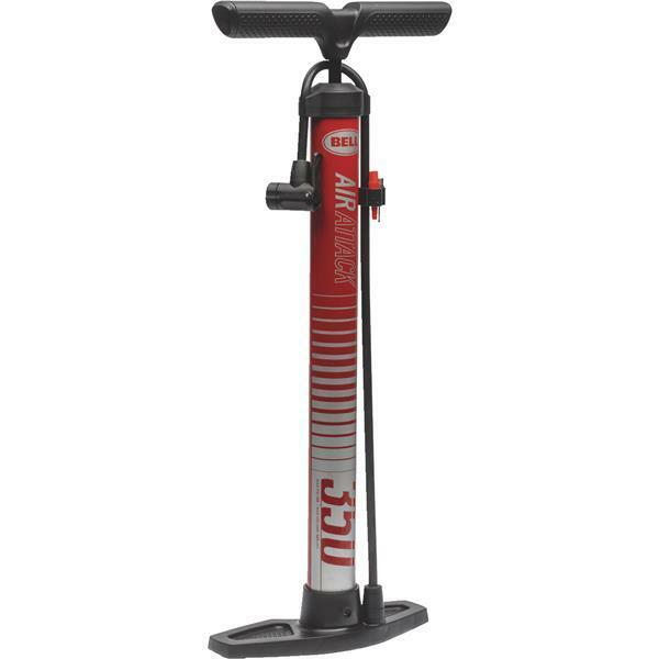 100 PSI Bike And Bicycle Floor Pump Bell  Sports 7076435 easy pumping 6 Pk  more affordable