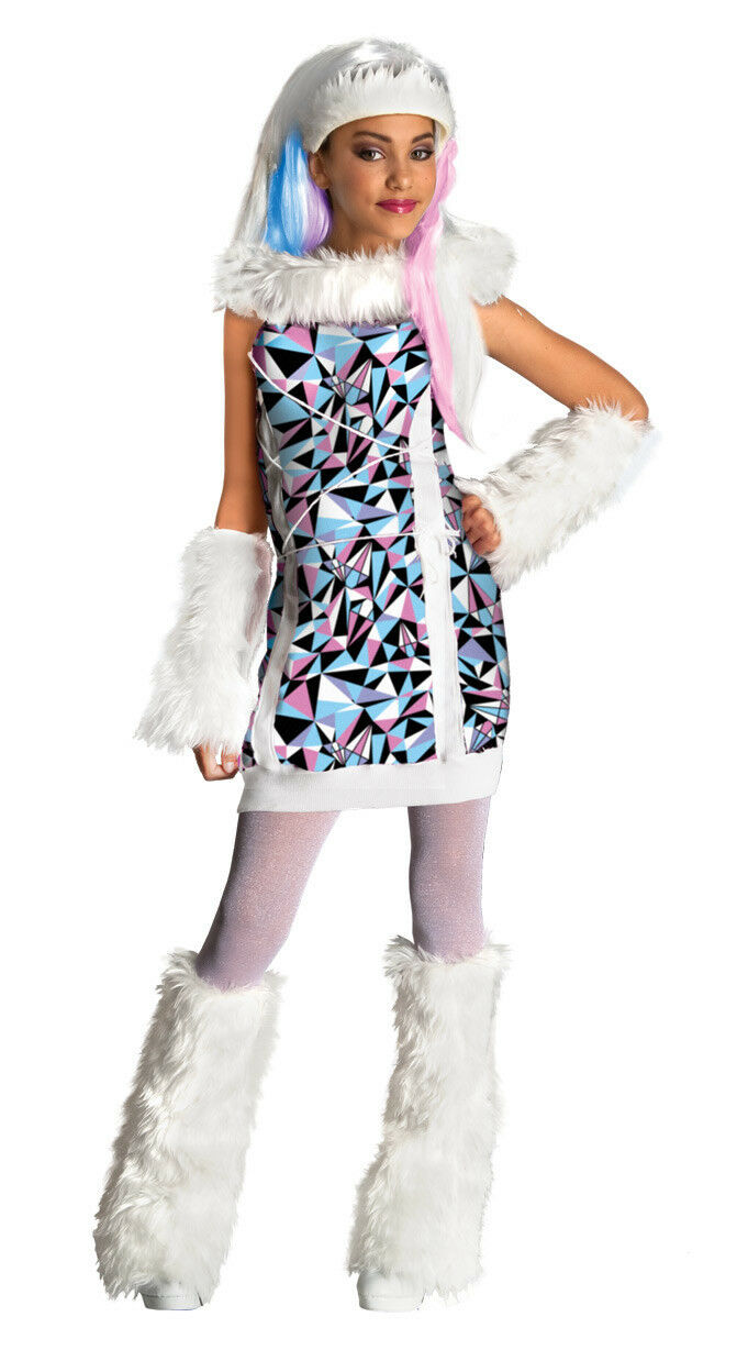 Monster High - Abbey Bominable Fancy Dress Up Halloween Child Costume
