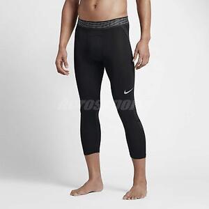 traidor Ídolo inalámbrico  Nike hombres Pro Hypercool 3/4 Entrenamiento Mallas Sports Gym ...