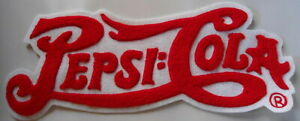PEPSI-COLA  LARGE  OLDER PATCH    NICE  CONDITION