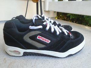 Vintage-Authentic-Vans-black-suede-mens-skate-shoes-sz-8