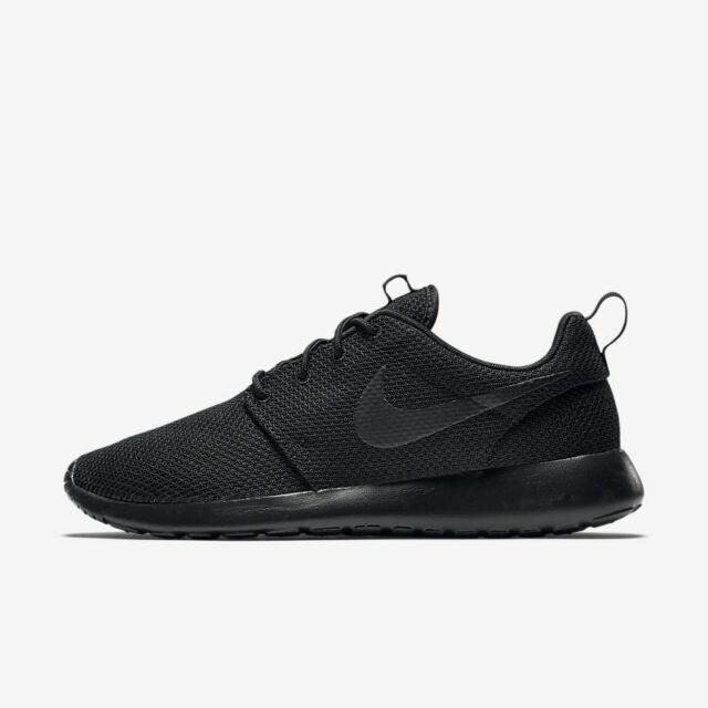 Nike Roshe One Mens Casual Running Shoes BlackBlackBlack 511881 026