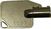 Handpunch Key All Hp1000, 2000, 3000 & 4000 Time Clocks