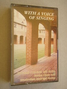 Toorak-College-Mt-Eliza-Senior-Choir-With-A-Voice-Of-Singing-Tape-Cassette
