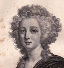 Élisabeth de France Madame Elisabeth Louis XVI Révolution Française 1836