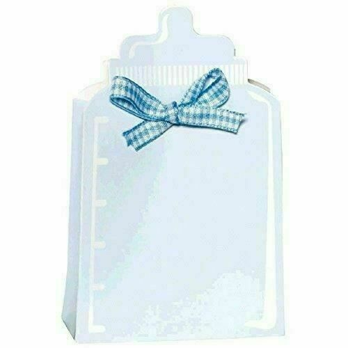 4.5 x 1.4 24 CT bleu Amscan bouteille Box Baby Shower Party Favor Kit