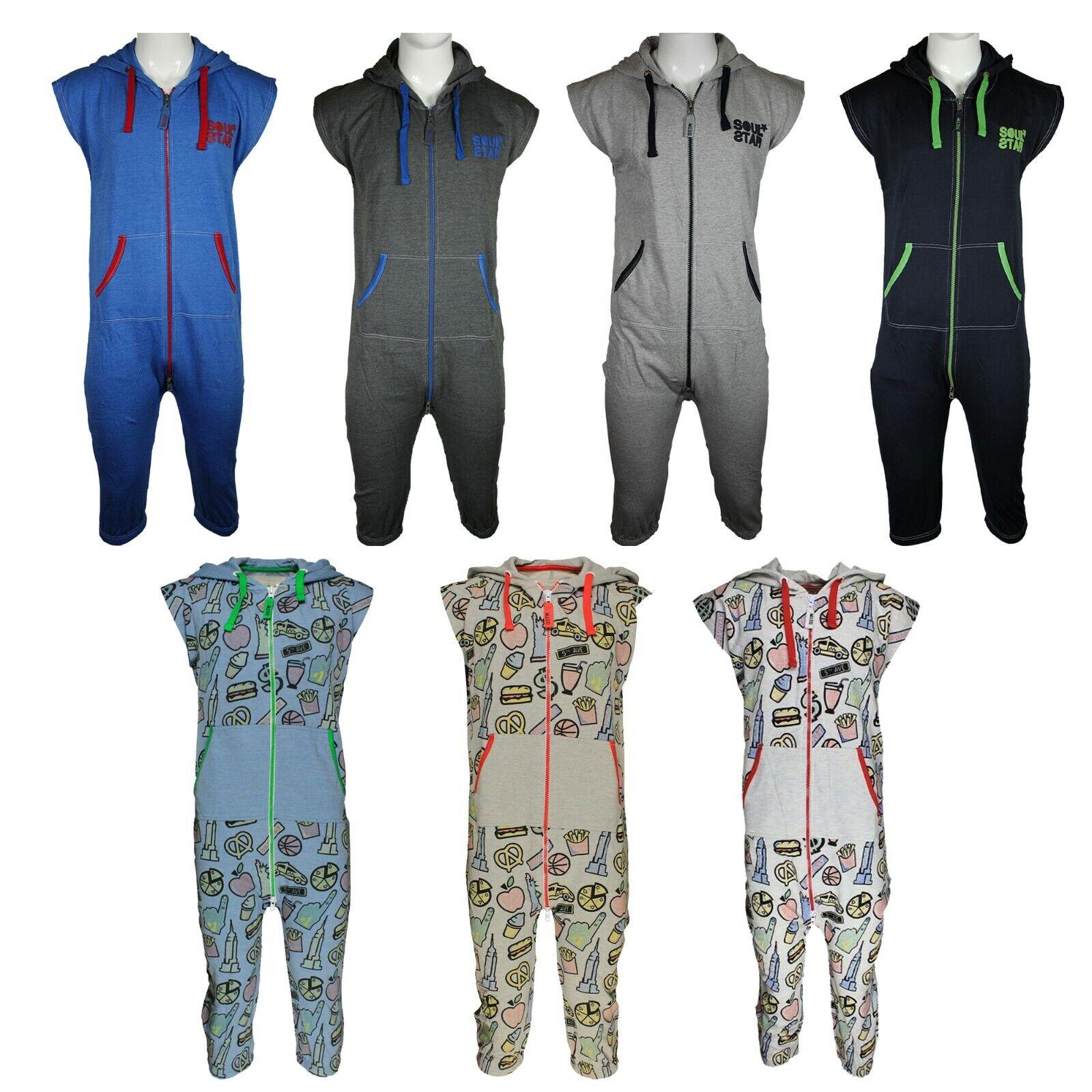 Camille Mens Fleece Hooded Pyjama Onesie