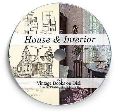 Rare Vintage House Design Construction Plans On Dvd Architect Home Interior C6 Ebay
