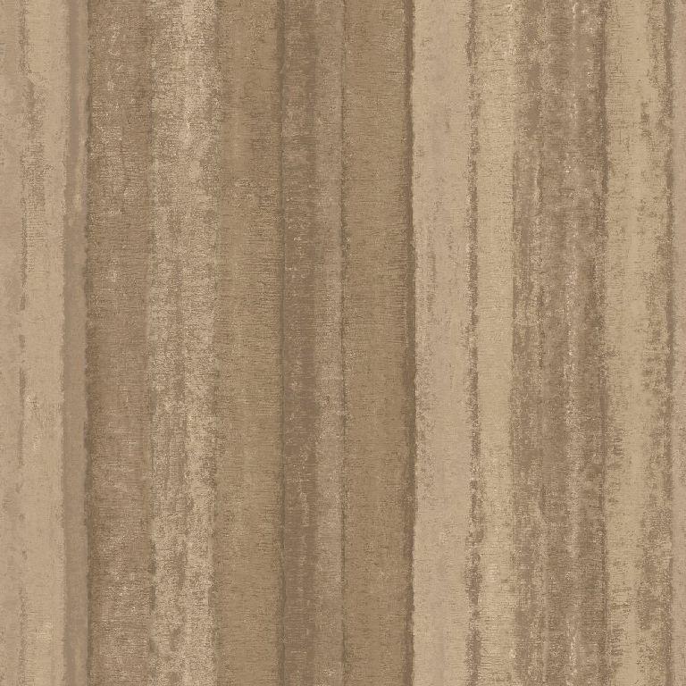 Essener Tapete Ambiance G67800 Stripes Brown Beige Matte Fleece Wallpaper