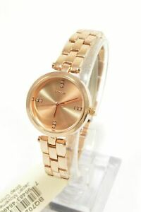 Fossil-BQ7024-Caila-Rose-Gold-Dial-Stainless-Steel-Ladies-Watch