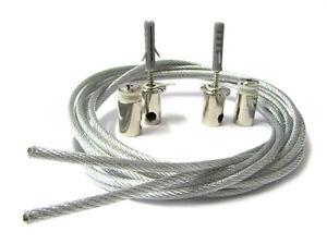 Set-Soportes-Para-Fijacion-De-Desde-Techo-La-Perfil-Barra-Aluminio-A-Suspension