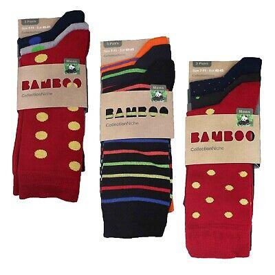 Pringle Mens Will Dots Bamboo Socks Pack of 3