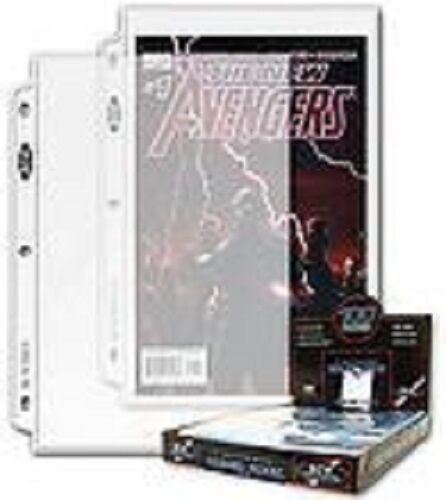 20-1 POCKET COMIC BOOK COLLECTOR PAGES ARCHIVAL SAFE BRAND NEW