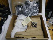 New US Military Vibram ICWT Gore-Tex Combat Tan Boots Size 15R