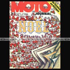 MOTO JOURNAL N°147 MONARK FENOUIL EN KAWASAKI 350 BIG HORN ACCESSOIRES NOËL '73