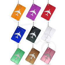 9pc Travel Luggage Tags Suitcase Luggage Bag Tags ID Bag Airlines Baggage Lables