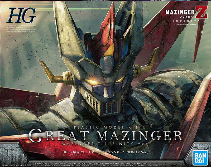 Great Mazinger Grande Mazinga Infinity Version Plastic Model Model Model Kit 1 144 NO GUNPLA 085707