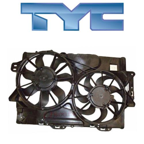 for Chevy Equinox 2008-2012 TYC 622380 Dual Radiator /& Condenser Fan