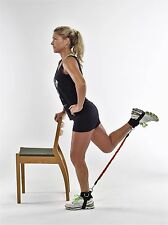 Core, Thigh, Hip and Butt Resistance Band Training System Lateral- 5-min workout