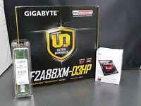 Gigabyte Ga-f2a88xm-d3hp Amd A4-7300 3.8ghz Cpu 4gb Ddr3 1600 Kit Pre-assembled