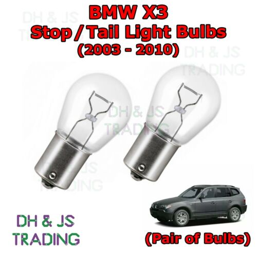 BMW X3 Stop Tail Light Bulbs Rear Brake Lights Bulb 382 12v 21w E83 03-10