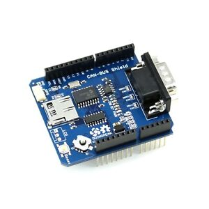Details about Duinopeak CAN BUS/OBD Shield for Arduino