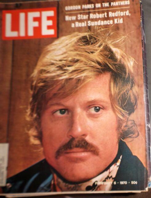 LIFE Magazine February 6 1970 Robert Redford A Real Sundance Kid