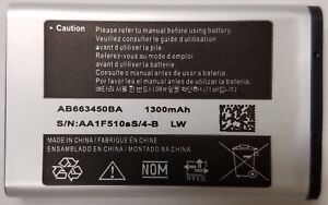Replacement-Battery-for-AT-amp-T-Samsung-SGH-A847-RUGBY-2-AB663450BA-1300mAh