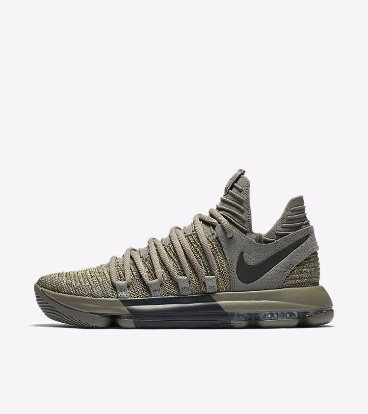 Nike KD X 10 Veterans Day Dark Stucco Green Black KDX Kevin Durant 897817 002