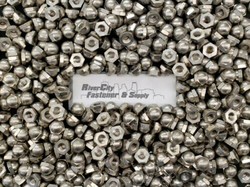 Cap Hex Nut  7//16 x 14 Nuts 7//16x14 7//16-14 Stainless Acorn Dome 25