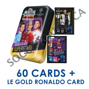 2019-20-TOPPS-MATCH-ATTAX-CHAMPIONS-LEAGUE-SUPERSTARS-MEGA-TIN-60-CARDS-RONALDO