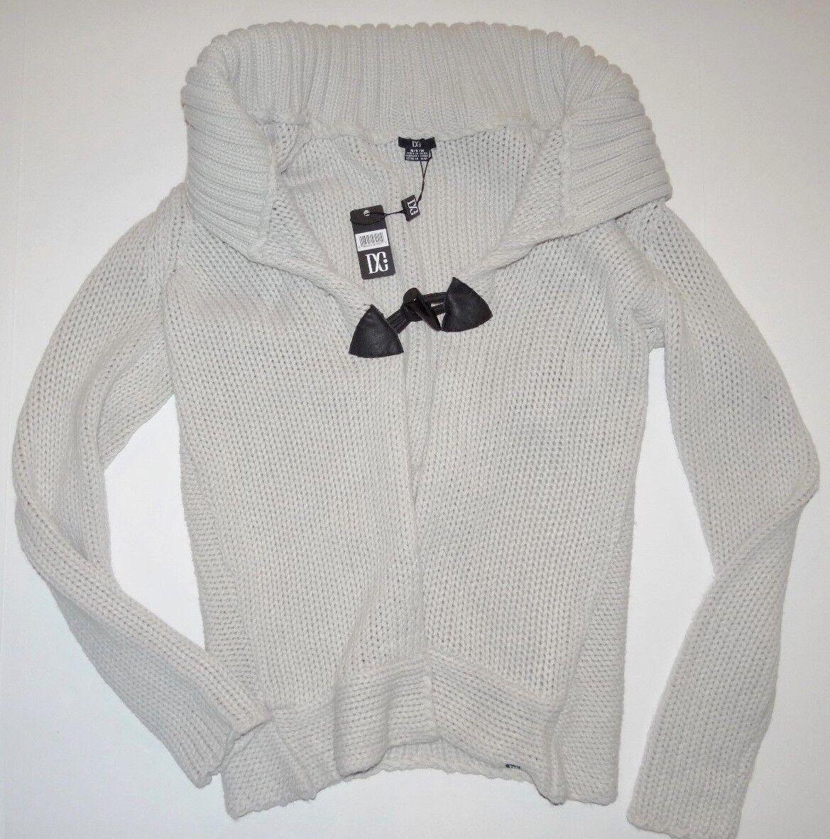 DC shoes Womens Hagen Casual Knit Shawl Collar Cardigan Sweater Medium