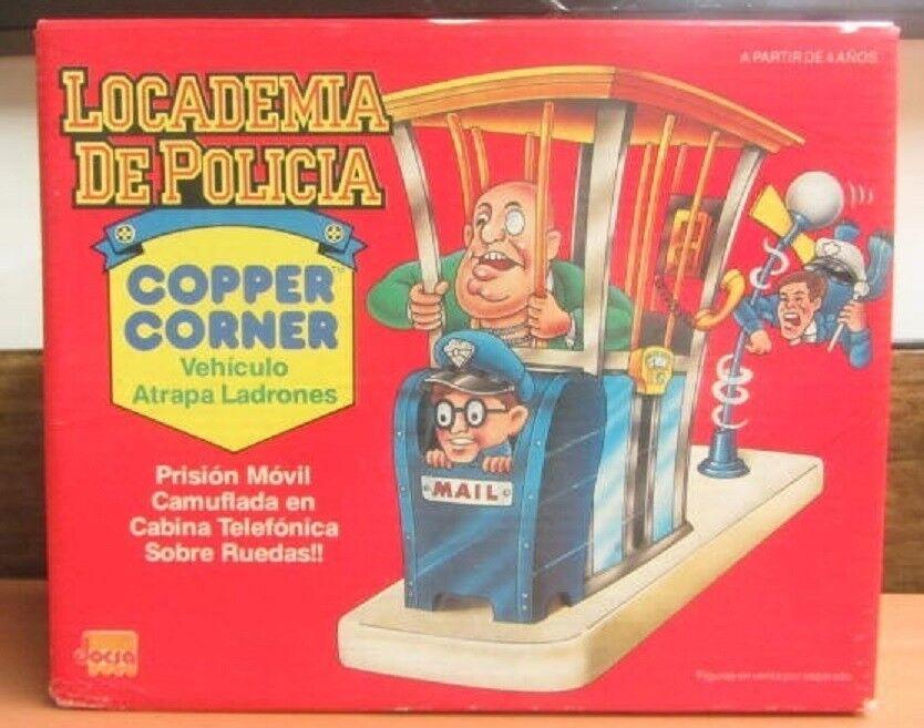 VINTAGE RARE 1990S POLICE ACADEMY COPPER COPPER COPPER CORNER ARGENTINA JOCSA NIB 6f69d1
