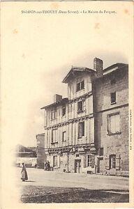 79-cpa-ST-LOUP-sur-THOUET-La-maison-du-parquet