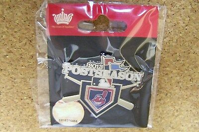 2013 Cleveland Indians Postseason lapel pin A.L. WC Wild Card