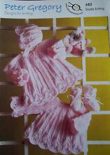 Baby Knitting Pattern DK    -    PG 685
