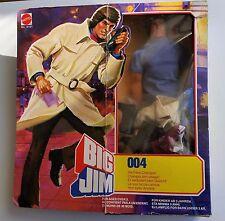 Big Jim 004 Spy en boite Mattel en boite RARE!